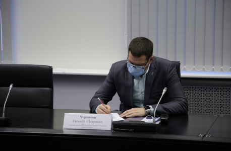 Секретарь антитеррористической комиссии в городском округе Анадырь Червяков Евгений Петрович