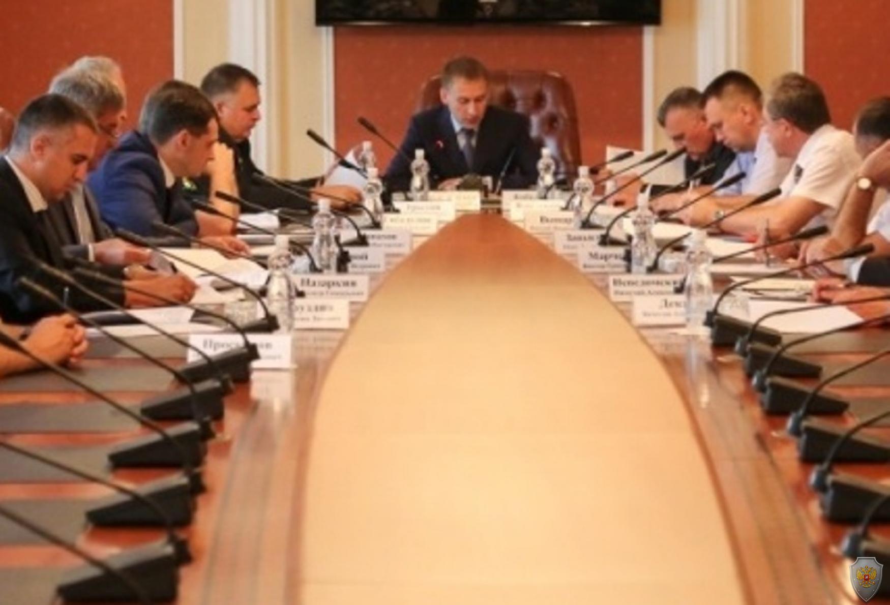 Безопасность при подготовке к выборам в Приамурье обсудили на антитеррористической комиссии