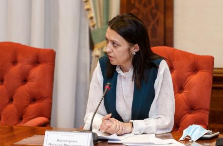 Выступление и.о. министра труда, занятости и социальной защиты Республики Коми Вытегоровой Н.В. по вопросу