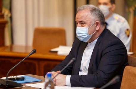 Выступление председателя антитеррористической комиссии г. Ухты Османова М.Н. по вопросу