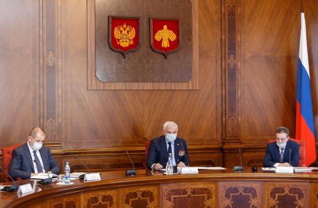 Обсуждение вопроса о мерах по обеспечению безопасности в период подготовки и проведения мероприятий, посвященных празднованию 100-летия Республики Коми.