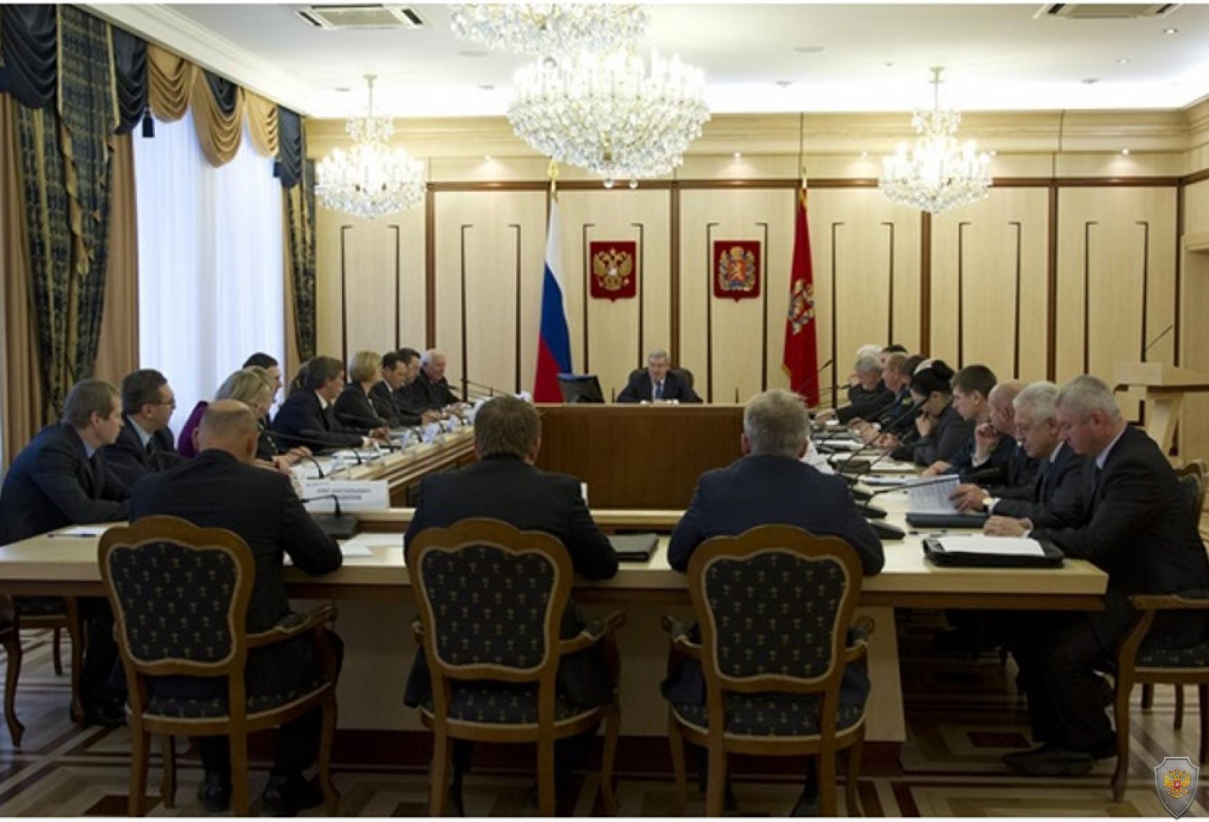 Виктор Толоконский провел заседание антитеррористической комиссии края