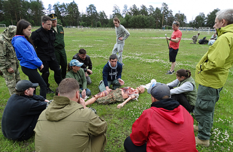 В Центральном федеральном округе проведены учебно-практические курсы «Бастион»
