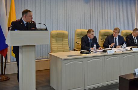 Проведено выездное заседание региональной антитеррористической комиссии