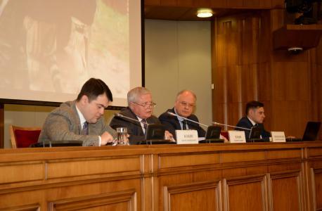 Пресс-конференция Национального антитеррористического комитета в Пресс-центре МИД России