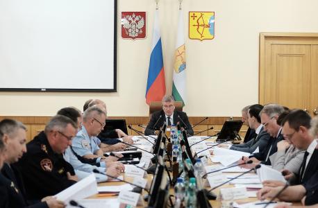 В Кировской области прошло заседание  антитеррористической комиссии
