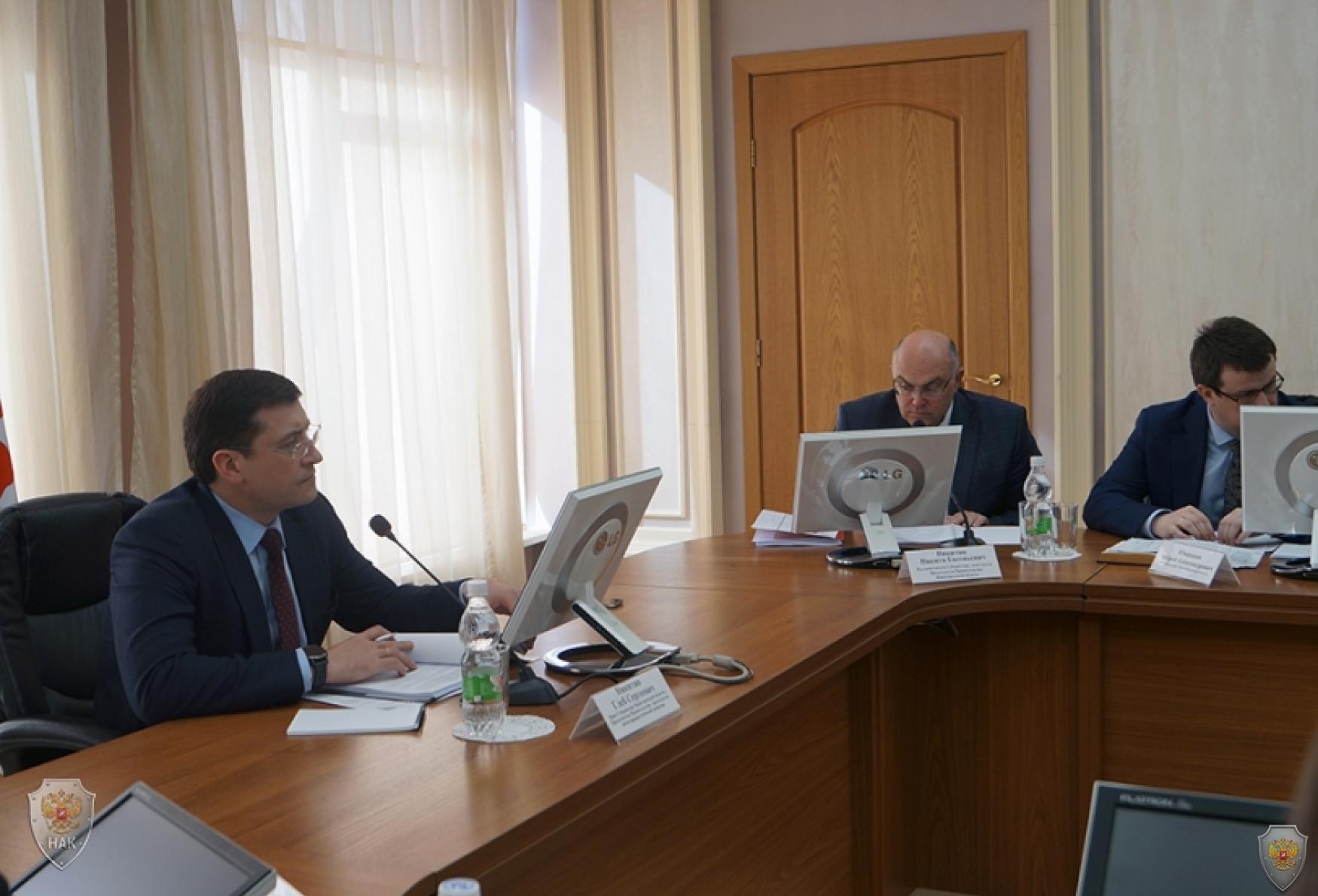 В городе Нижнем Новгороде проведено внеочередное заседание антитеррористической комиссии в Нижегородской области