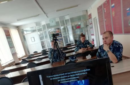 В ФКУ ЛИУ-4 УФСИН России по Удмуртской Республике проведена запись видеолекции на тему