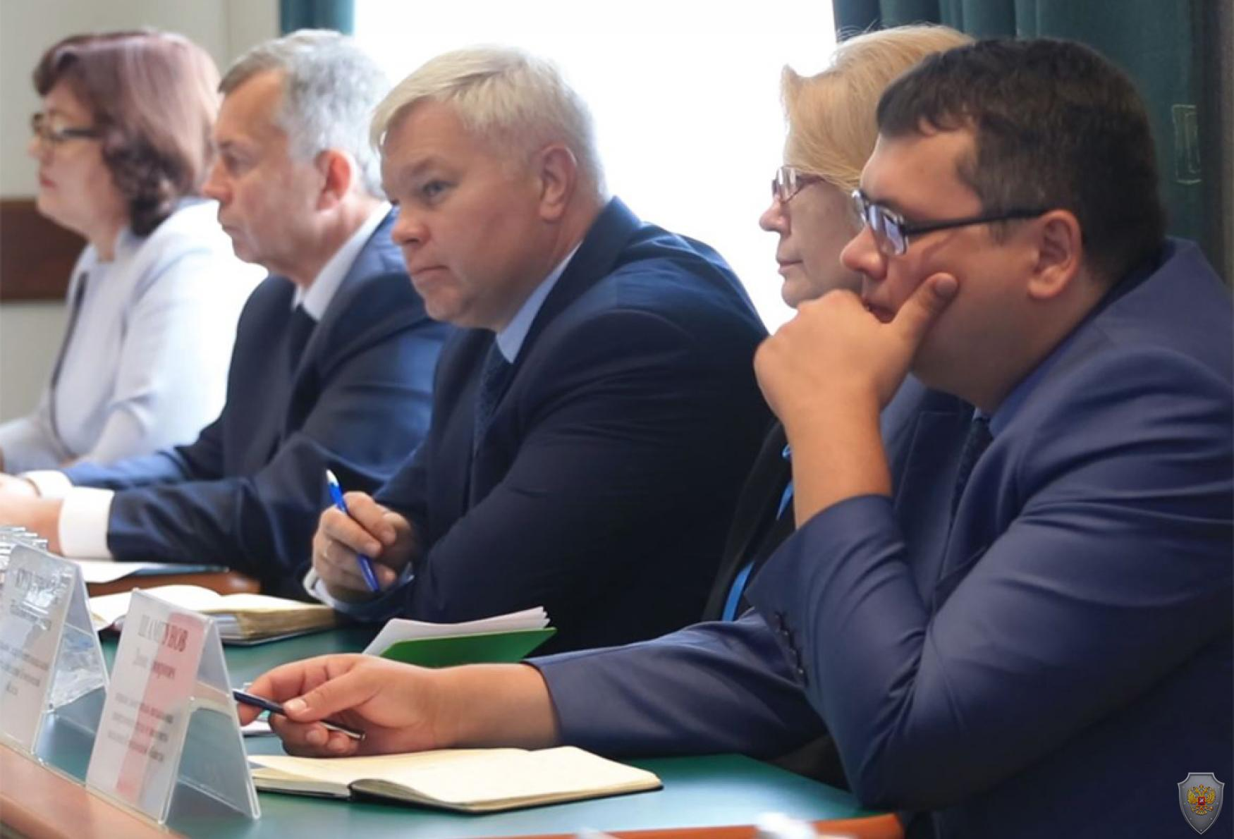 Совместное заедание АТК и ОШ в Кемеровской области