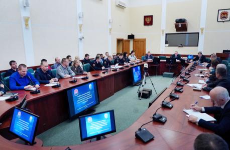 Участники учебно-методического сбора ответственные за реализацию мероприятий по профилактике терроризма в Калининградской области.