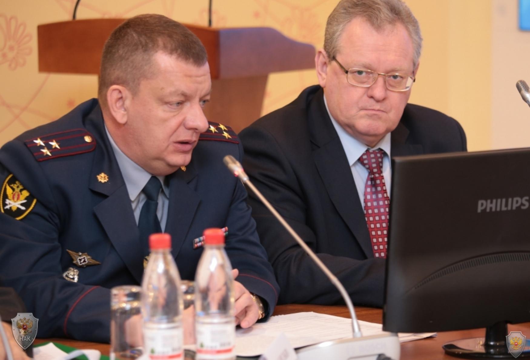 Выступление начальника УФСИН России по Вологодской области