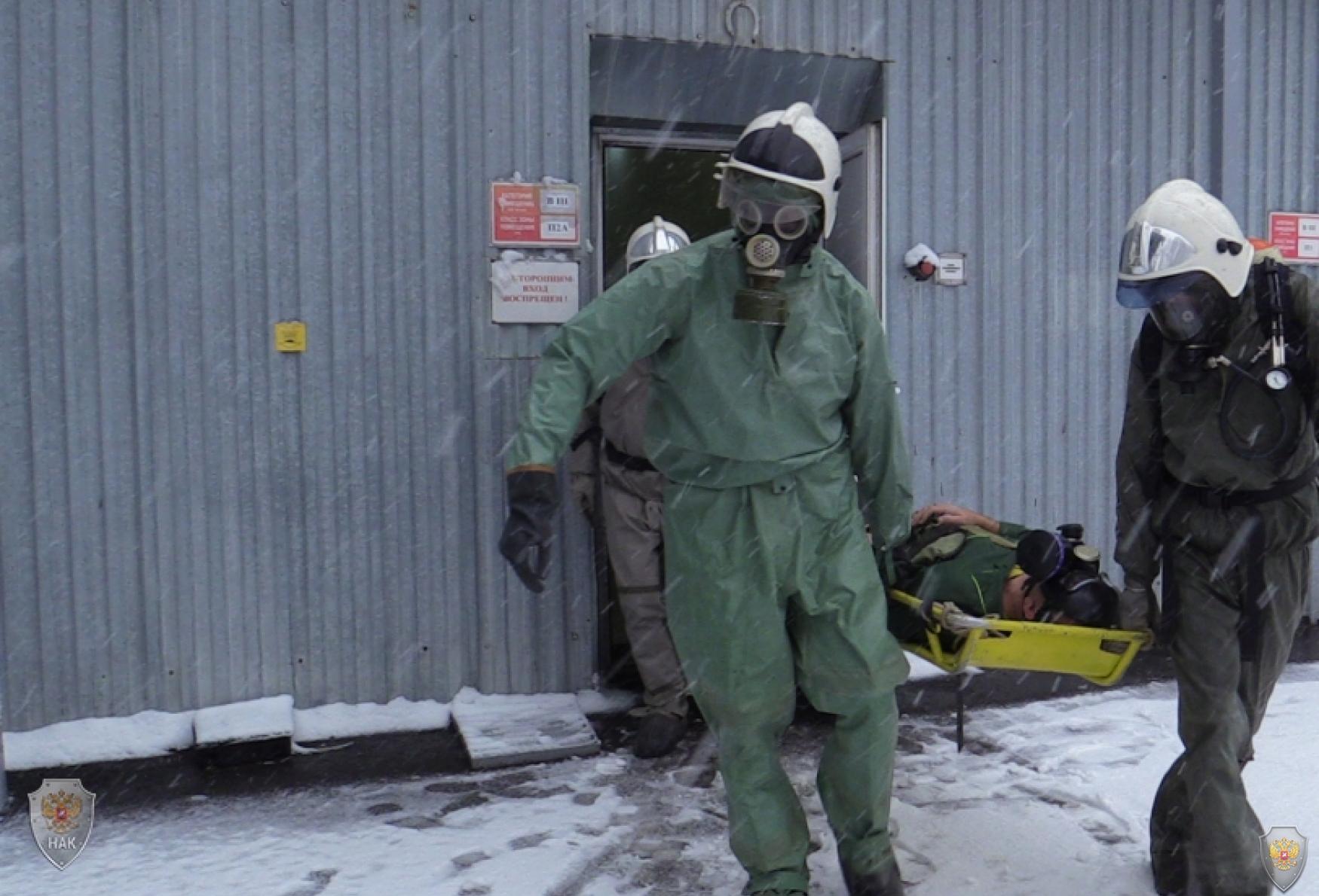 Оперативным штабом в Рязанской области проведено командно-штабное учение по пресечению теракта на химически опасном предприятии региона