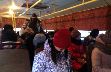 «Заложники» и «террорист» в захваченном автобусе