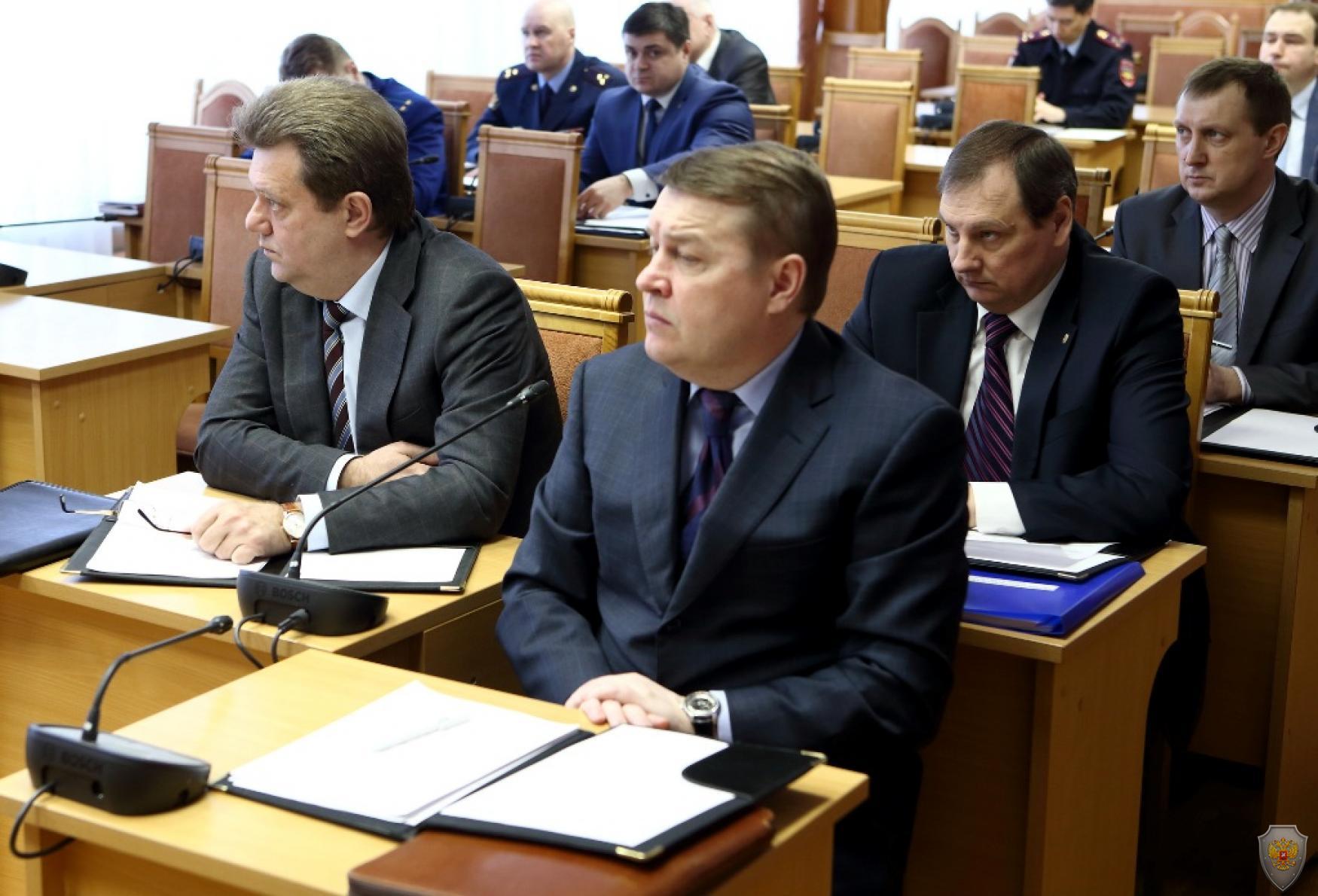 Присутствовавшие на заседании члены АТК Томской области