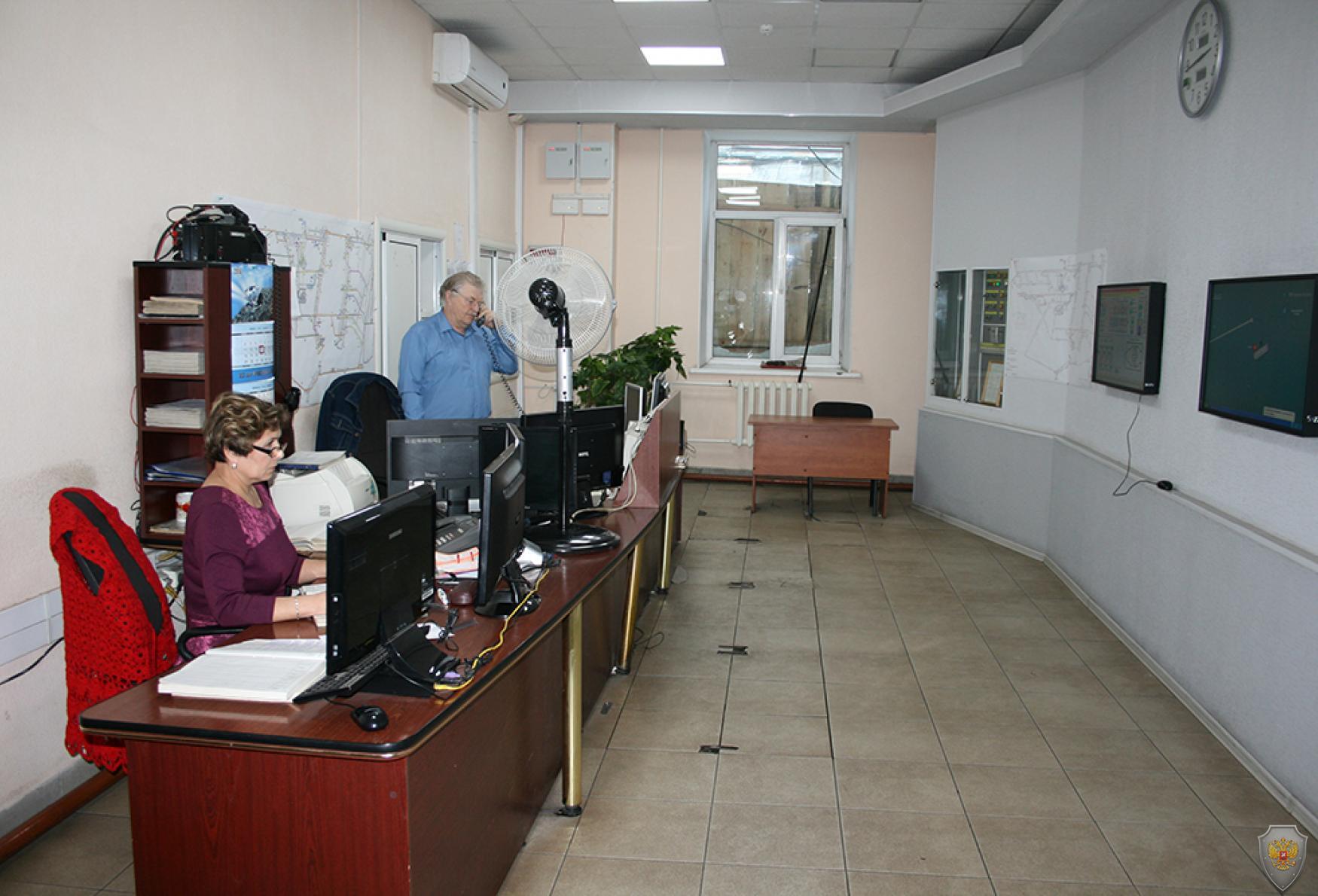 Диспетчерский пункт ООО «Шахта Берёзовская»