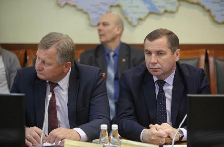 Ведение заседания антитеррористической комиссии Вологодской области 1 марта 2019 года