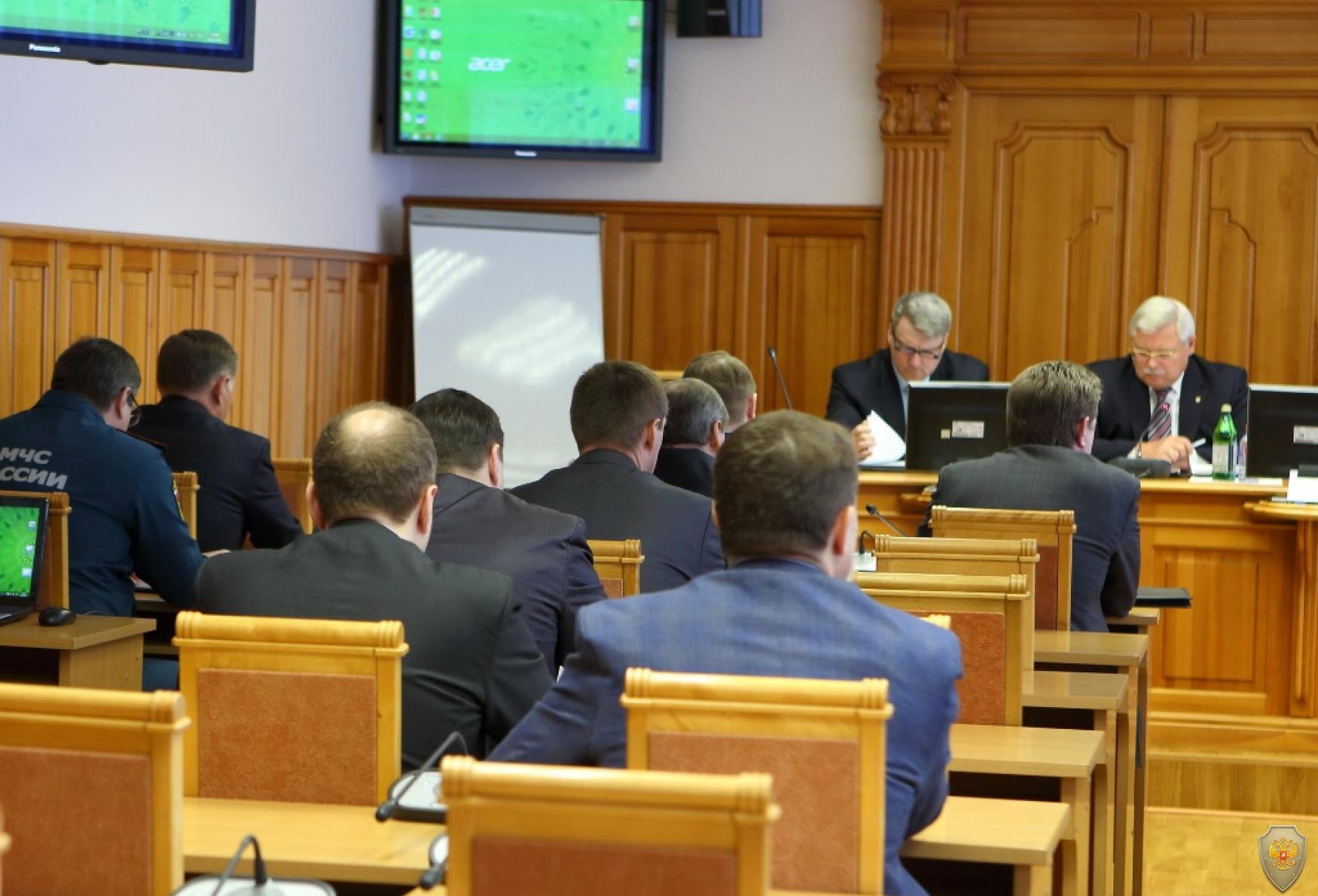 Заседание АТК Томской области