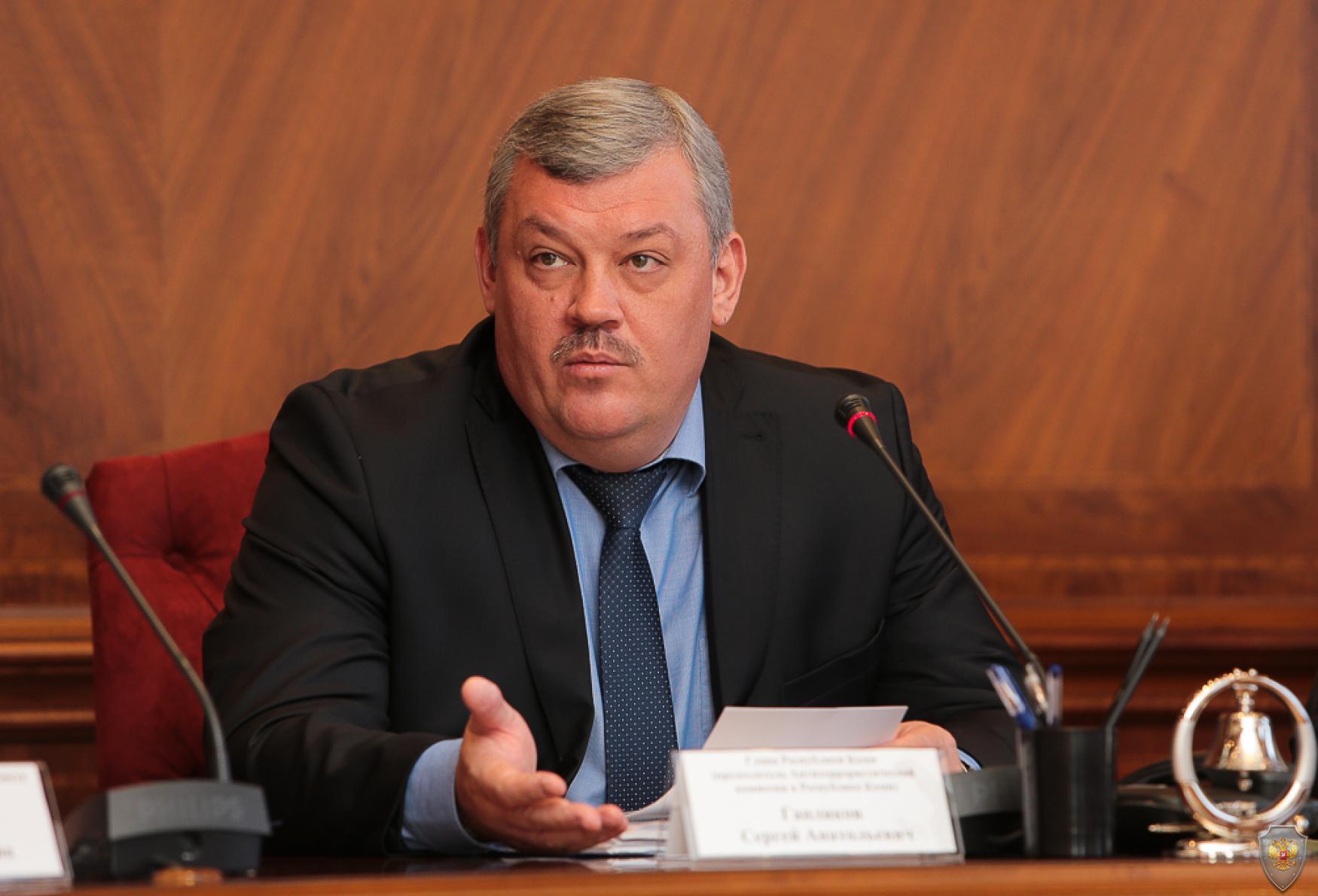 Вступительное слово Председателя Антитеррористической комиссии в Республике Коми
