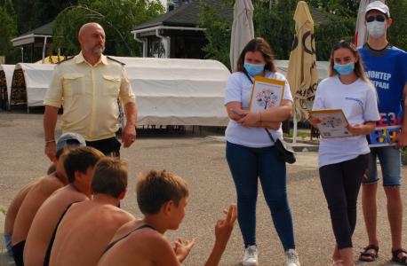 В Волгограде проведена информационно-профилактическая акция «Безопасный отдых»
