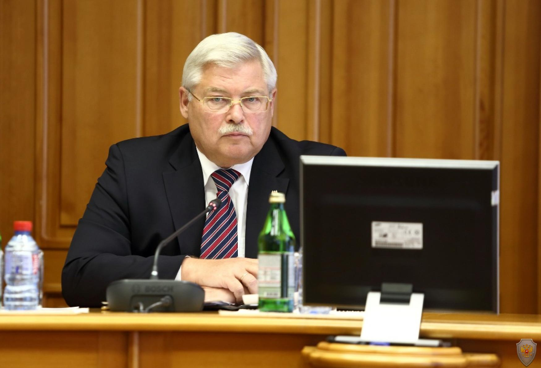 Губернатор Томской области - председатель АТК Томской области Жвачкин С.А.