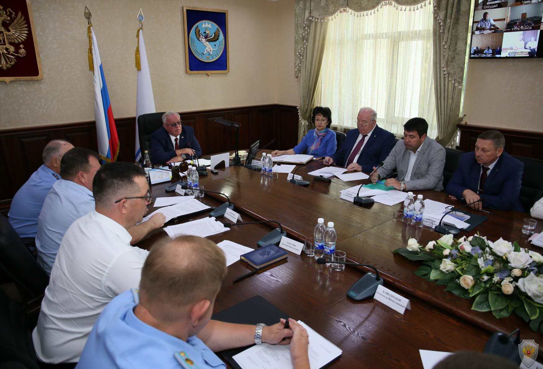 Совместное заседание Антитеррористической комиссии Республики Алтай и Оперативного штаба в Республике Алтай