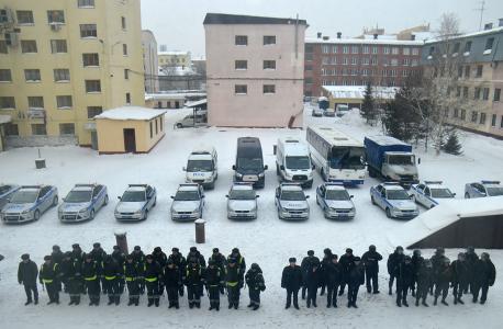 Силы и средства ГУ МВД России по Кемеровской области