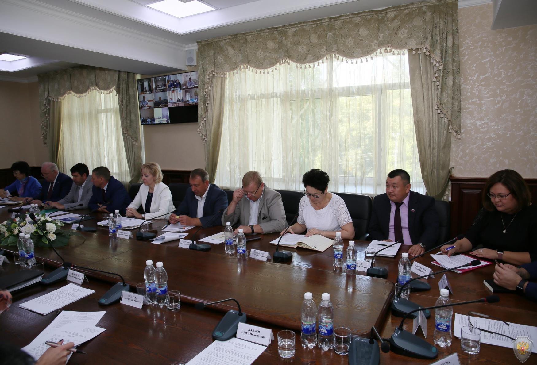 Обсуждение Положения об АТК муниципального образования и Регламента