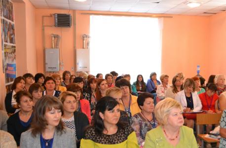 Общий вид участников Университета на пленарном заседании