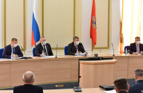 Заседание антитеррористической комиссии состоялось в Брянской области