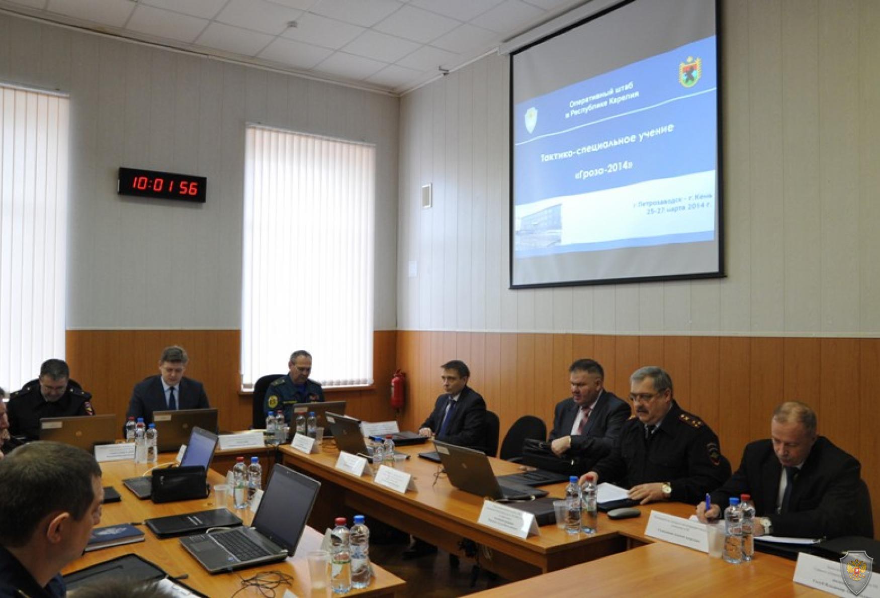 27 марта 2014 года проведено учение по пресечению террористического акта на объекте органов власти.