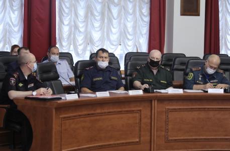 Прошло  заседание антитеррористической комиссии в ЕАО