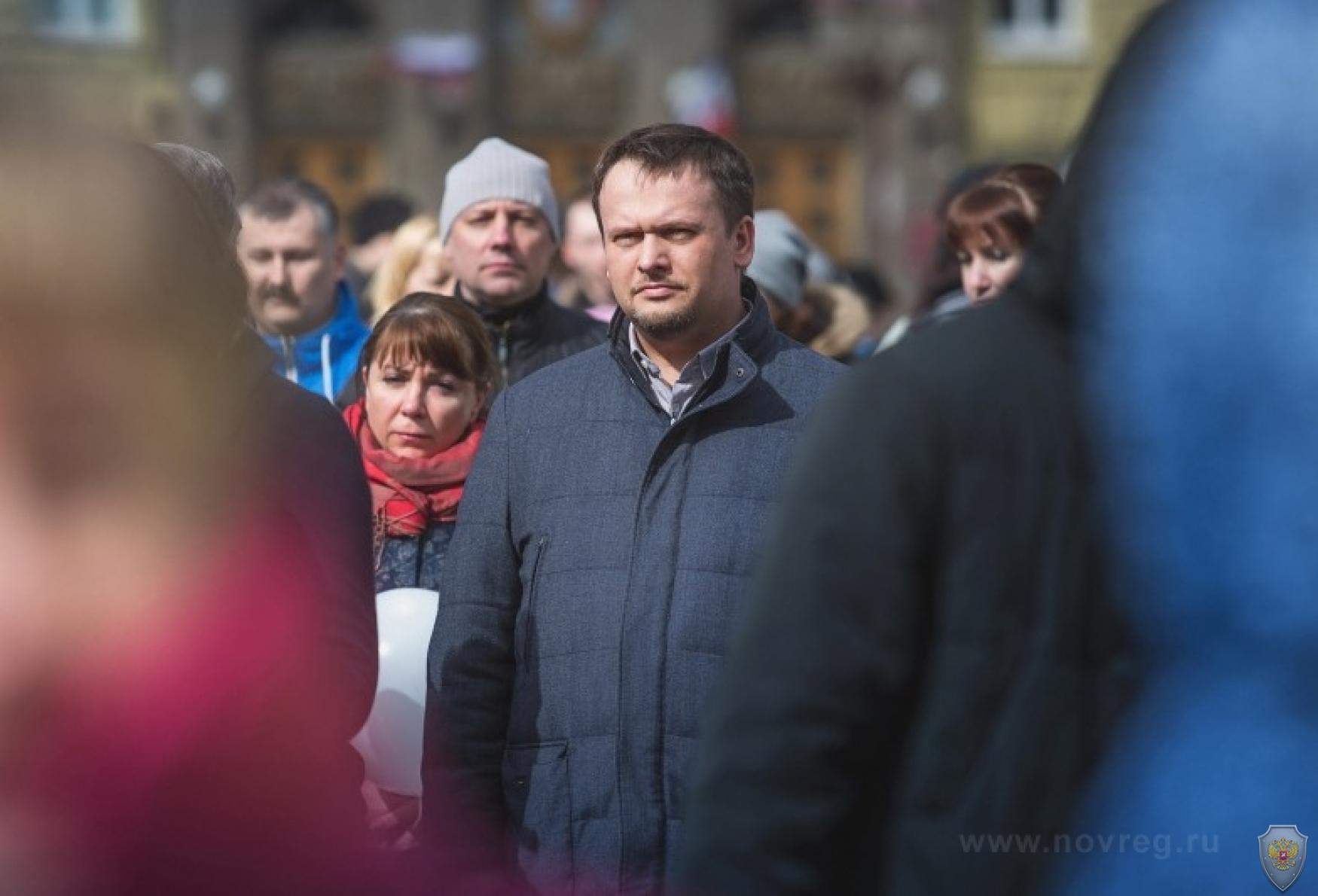 Временно исполняющий обязанности губернатора Новгородской области, председатель региональной антитеррористической комиссии Андрей Никитин