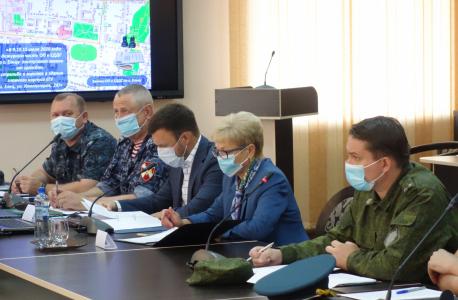 Доклад члена ОШ в Липецкой области – заместителя главы администрации Липецкой области о выполнении мероприятий в рамках межведомственного взаимодействия на террористическую угрозу