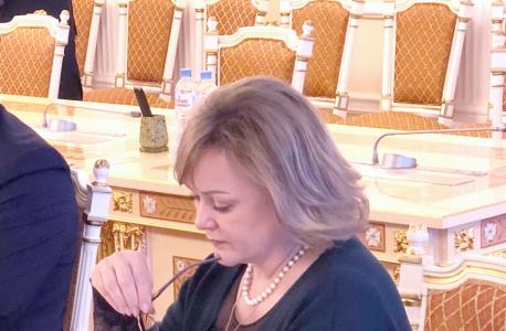 И.о. директора департамента транспорта и дорожного хозяйства Ямало-Ненецкого автономного округа Наталья Сагун