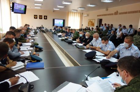 Доведение общей и частной обстановки руководителем ОШ в Липецкой области по замыслу КШУ «Экран-2020».