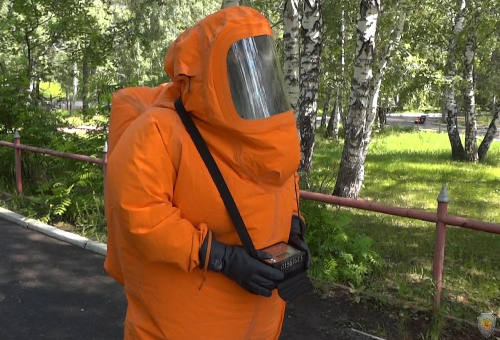 РХБР, замер дозы радиации