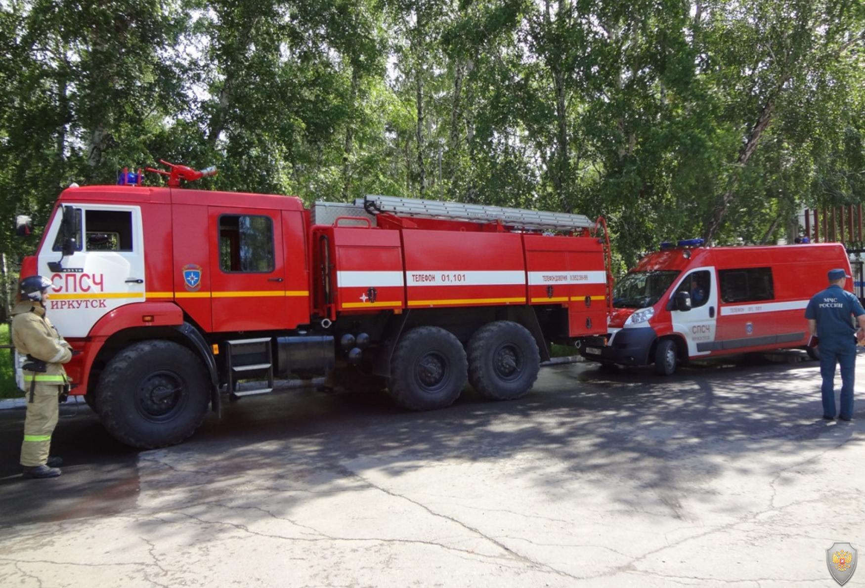 Готовность пожарных расчётов группы ликвидации последствий террористического акта