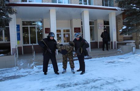 Оперативным штабом в Оренбургской области проведено командно-штабное учение под условным наименованием «Гроза–Грачевка–2021»