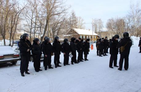 Антитеррористические учения в Кировской области