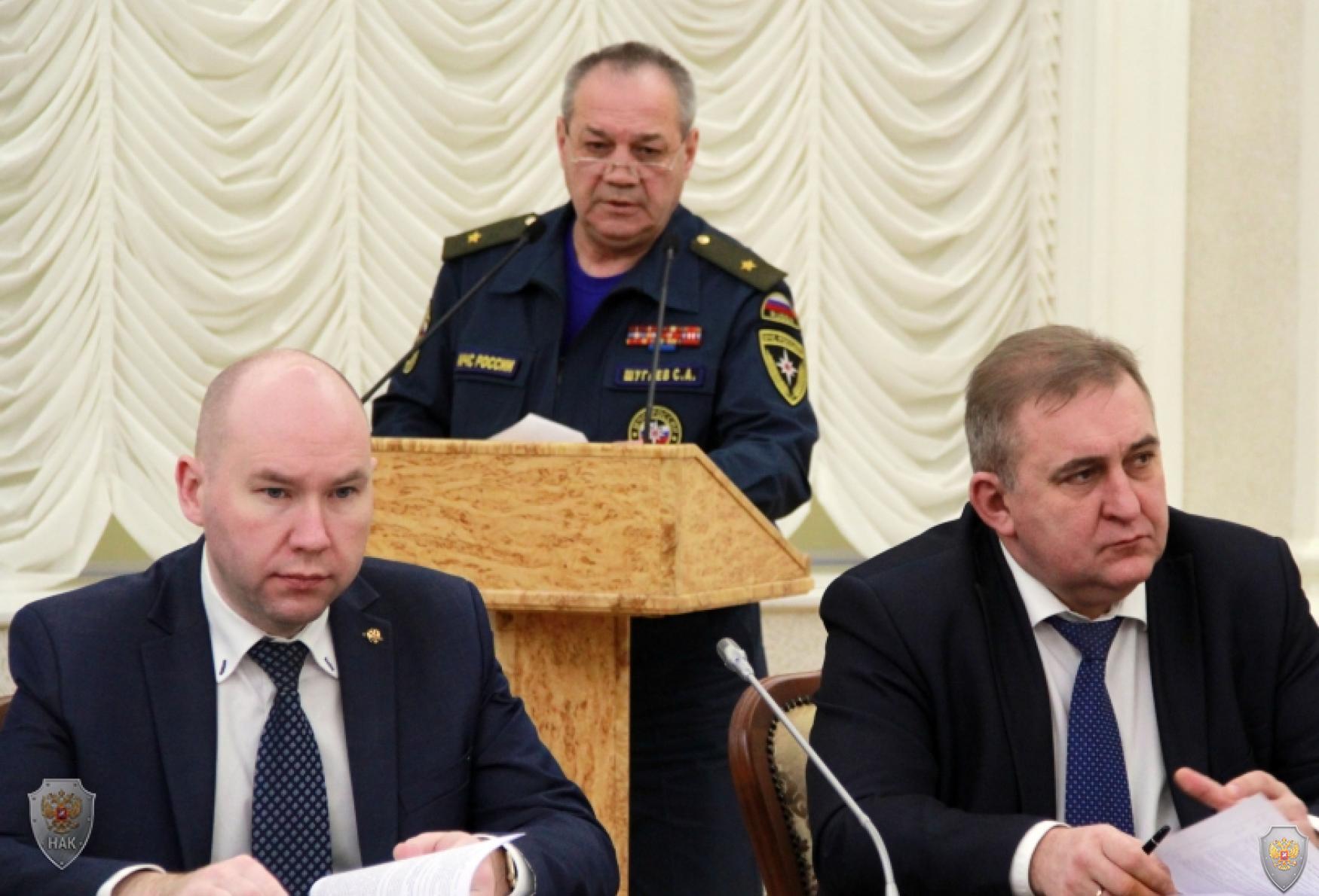 Глава Карелии провел заседание республиканской антитеррористической комиссии