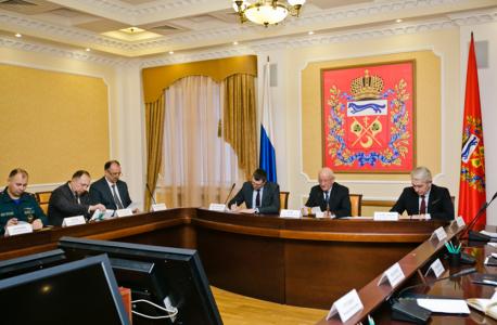 Выступление на открытии заседания антитеррористической комиссии в Оренбургской области председателя АТК, губернатора Ю.А.Берга