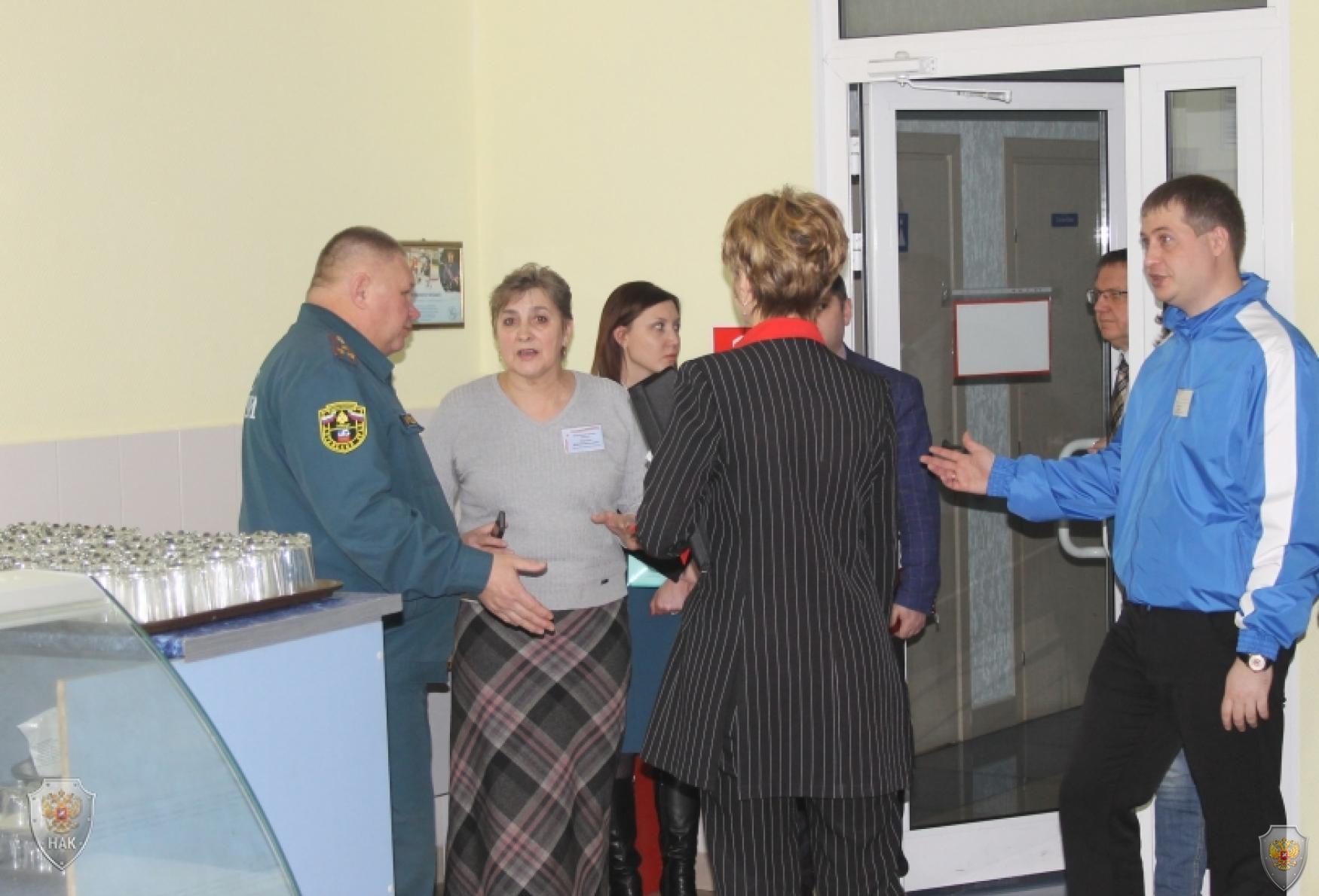 В Барнауле проведено командно-штабное учение по пресечению террористического акта
