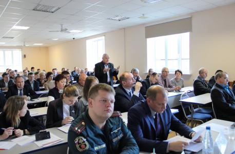Аппаратом антитеррористической комиссии в Санкт-Петербурге на базе Северо-Западного института управления РАНХиГС проведены методические сборы