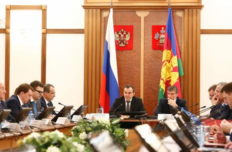 Открытие заседания Антитеррористической комиссии и Оперативного штаба в Краснодарском крае