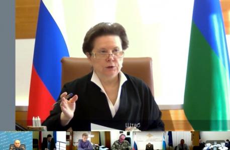 Открытие совместного заседания. Вступительное слово Губернатора Комаровой Натальи Владимировны
