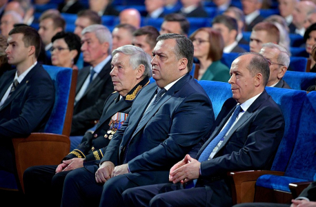 Выступление В.В. Путина на вечере, посвящённом Дню работника органов безопасности РФ