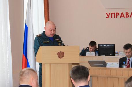 Оперативным штабом в Курганской области проведены командно-штабные антитеррористические учения