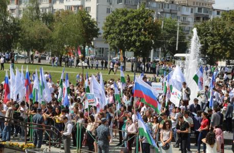 В столице республики прошел митинг, посвященный  Дню солидарности в борьбе с терроризмом