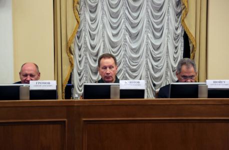 В Москве прошло итоговое заседание Национального антитеррористического комитета и Федерального оперативного штаба