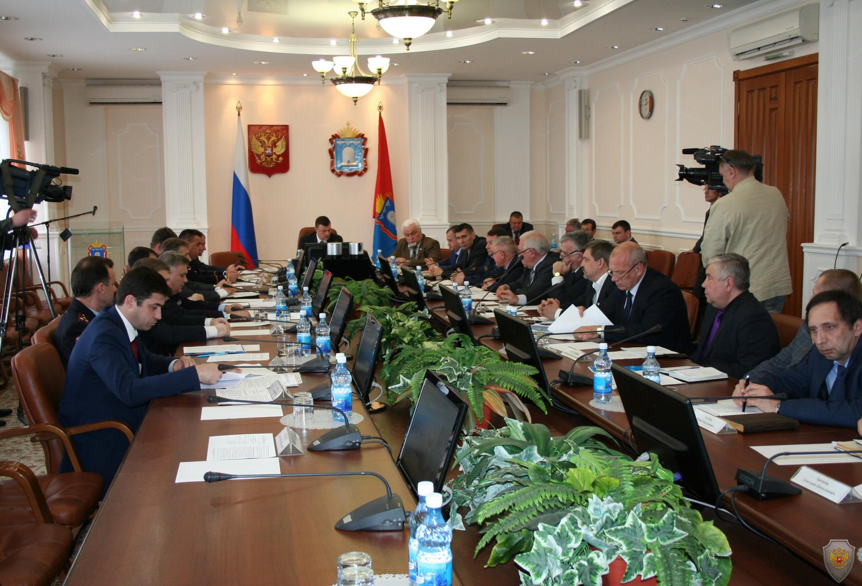 Члены антитеррористической комиссии Тамбовской области обсудили мероприятия по обеспечению безопасности в майские праздники